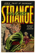 Golden Age (1938-1955):Horror, Strange Fantasy #4 (Farrell, 1953) Condition: FN+....