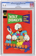 Bronze Age (1970-1979):Cartoon Character, Walt Disney's Comics and Stories #404 (Whitman, 1974) CGC NM 9.4.Price quoted is for the Gold Key edition. Overstreet 2005 ...