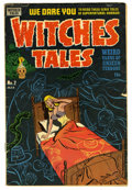 Golden Age (1938-1955):Horror, Witches Tales #2 (Harvey, 1951) Condition: GD/VG....