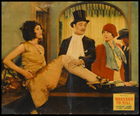 "Dressed to Kill (Fox, 1928). Jumbo Lobby Card (14"" X 17""). Crime"