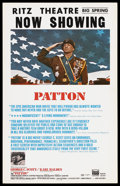 "Movie Posters:Academy Award Winner, Patton (20th Century Fox, 1970). Window Card (14"" X 22""). AcademyAward Winner. ..."