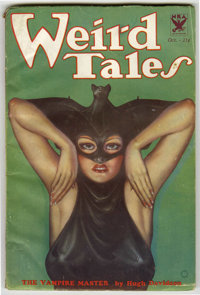 Weird Tales (Pulp) 1933-10 (Popular Fiction, 1933) Condition: FN-