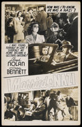 "Movie Posters:War, I Married a Nazi (20th Century Fox, 1940). Window Card (14"" X 22"").War. ..."