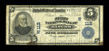 National Bank Notes:Maine, Bangor, ME - $5 1902 Plain Back Fr. 598 The First NB Ch. # (N)112....