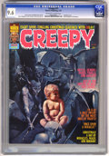 Magazines:Horror, Creepy #77 (Warren, 1976) CGC NM+ 9.6 Off-white to white pages. ...