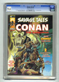 Magazines:Superhero, Savage Tales #4 (Marvel, 1974) CGC NM+ 9.6 Off-white to white pages. ...
