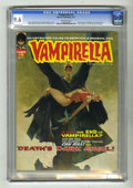 Magazines:Horror, Vampirella #12 (Warren, 1971) CGC NM+ 9.6 Off-white pages. Features the first time Jose Gonzalez drew Vampirella. Manuel San...