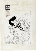 Original Comic Art:Covers, Warren Kremer - Little Dot Dotland #28 Cover Original Art (Harvey,1967). ...