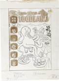 Original Comic Art:Covers, Warren Kremer - Little Lotta in Foodland #27 Cover Original Art(Harvey, 1972)....