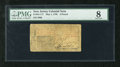 Colonial Notes:New Jersey, New Jersey May 1, 1758 L3 PMG Very Good 8. A lovely example of thismuch scarcer early New Jersey issue and denomination. T...