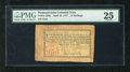 Colonial Notes:Pennsylvania, Pennsylvania April 10, 1777 12s PMG Very Fine 25. This is thescarce Red and Black variety which has always been wildly popu...