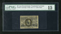 Fractional Currency:Second Issue, Fr. 1322 50c Second Issue PMG Choice Fine 15. A pleasing example of this scarcer fiber paper variety that has three excellen...