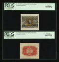 Fractional Currency:Second Issue, Fr. 1314SP 50¢ Second Issue Specimen Pair. PCGS Gem New 66PPQ.. ... (Total: 2 notes)