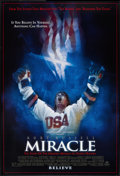 "Movie Posters:Sports, Miracle (Buena Vista, 2004). One Sheet (27"" X 40"") DS. Sports.. ..."