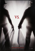 "Movie Posters:Horror, Freddy vs. Jason (New Line, 2003). One Sheet (27"" X 40"") Advance.Horror.. ..."