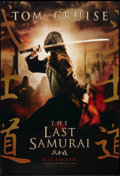 "Movie Posters:Adventure, The Last Samurai (Warner Brothers, 2003). One Sheets (4) (27"" X40"") DS Advance, and DS Regular Style A (Looking Left), DS R...(Total: 4 Items)"