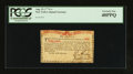 Colonial Notes:New York, New York August 25, 1774 (Water Works) 1s PCGS Extremely Fine40PPQ.. ...