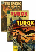 Silver Age (1956-1969):Adventure, Turok Group (Dell/Gold Key, 1955-66) Condition: Average GD/VG.... (Total: 35 Comic Books)