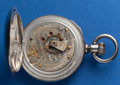 "Timepieces:Pocket (pre 1900) , Illinois 17 Jewel ""The President"" 18 Size Private Label For N.Gamse Cleveland O.. ..."