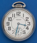 Timepieces:Pocket (post 1900), Waltham 21 Jewel Premier 16 Size Pocket Watch. ...
