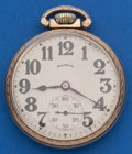 Timepieces:Pocket (post 1900), Illinois 16 Size, 21 Jewel Bunn Special. ...