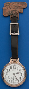 Timepieces:Pocket (post 1900), Hamilton 21 Jewel 992 With Allis-Chalmer's Fob. ...