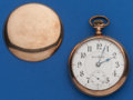 Timepieces:Pocket (post 1900), Illinois 18 Size, 21 Jewel Two Tone Bunn Special. ...