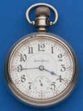 Timepieces:Pocket (post 1900), Illinois 21 Jewel 18 Size Abe Lincoln Pocket Watch. ...
