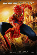 """Movie Posters:Action, Spider-Man 2 (Columbia, 2004). One Sheet (27"""" X 40"""") DS Advance, Destiny Style. Action.. ..."""