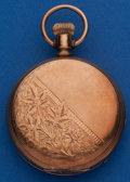 Timepieces:Pocket (post 1900), Elgin 6 Size Hunters Case. ...
