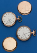 Timepieces:Pocket (post 1900), Two Elgin 16 Size Runners. ... (Total: 2 Items)