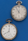 Timepieces:Pocket (post 1900), Two Illinois 12 Size Runners. ... (Total: 2 Items)
