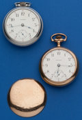 Timepieces:Pocket (post 1900), Two Waltham 18 Size Runners. ... (Total: 2 Items)