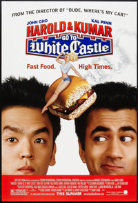 "Harold and Kumar Go to White Castle (New Line, 2004). One Sheet (27"" X 40"") DS Advance. Comedy"