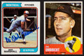 Baseball Cards:Autographs, Mike Marshall and Jim Umbright Signed Cards Lot of 2....