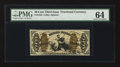 Fractional Currency:Third Issue, Fr. 1343 50¢ Third Issue Justice. PMG Choice Uncirculated 64.. ...