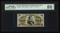 Fractional Currency:Third Issue, Fr. 1298 25¢ Third Issue. PMG Choice Uncirculated 64 EPQ.. ...