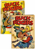 Golden Age (1938-1955):Science Fiction, Buck Rogers #5 and 6 Group (Eastern Color, 1943).... (Total: 2Comic Books)