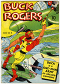 Golden Age (1938-1955):Adventure, Buck Rogers #4 (Eastern Color, 1942) Condition: VG+....