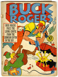 Golden Age (1938-1955):Science Fiction, Buck Rogers #3 (Eastern Color, 1941) Condition: GD....