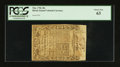 Colonial Notes:Rhode Island, Rhode Island May 1786 40s PCGS Choice New 63.. ...