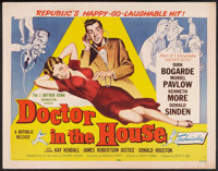 "Doctor in the House (Republic, 1953). Half Sheets (2) (22"" X 28"") Styles A & B. Comedy. ... (Total: 2..."