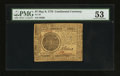 Colonial Notes:Continental Congress Issues, Continental Currency May 9, 1776 $7 PMG About Uncirculated 53.. ...