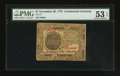 Colonial Notes:Continental Congress Issues, Continental Currency November 29, 1775 $7 PMG About Uncirculated 53EPQ.. ...