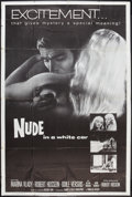 "Movie Posters:Mystery, Nude in a White Car (Trans Lux, 1960). Poster (40"" X 60"").Mystery.. ..."