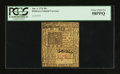 Colonial Notes:Delaware, Delaware January 1, 1776 20s PCGS Choice About New 58PPQ.. ...
