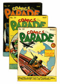 Golden Age (1938-1955):Miscellaneous, Comics On Parade #22-30 Group (United Features Syndicate, 1940).... (Total: 10 Comic Books)