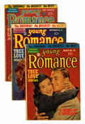 Golden Age (1938-1955):Romance, Young Romance Comics Group (Prize, 1952-58) Condition: AverageGD.... (Total: 9 Comic Books)