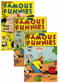 Golden Age (1938-1955):Miscellaneous, Famous Funnies Group (Eastern Color, 1948-50).... (Total: 21 Comic Books)
