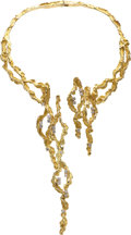 Estate Jewelry:Necklaces, Diamond, Gold Necklace, Chaumet. ...